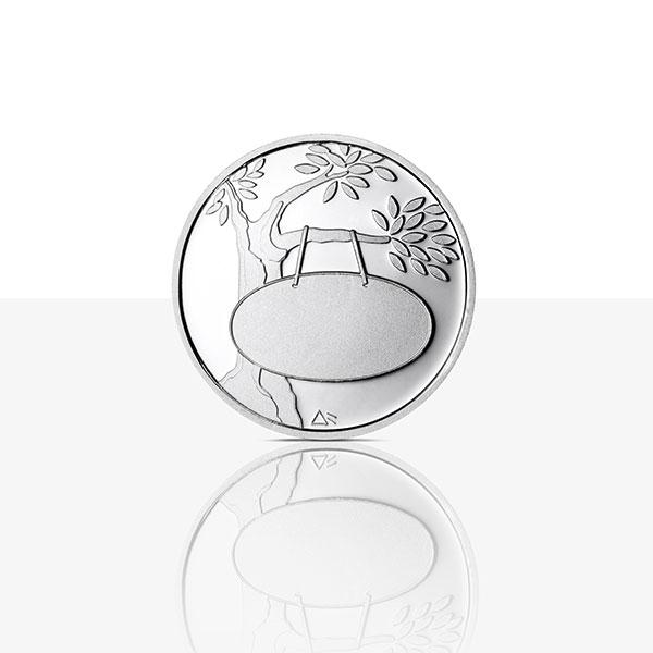 Geburtsmedaille Sterling Silber Staatliche Münzen Baden Württemberg