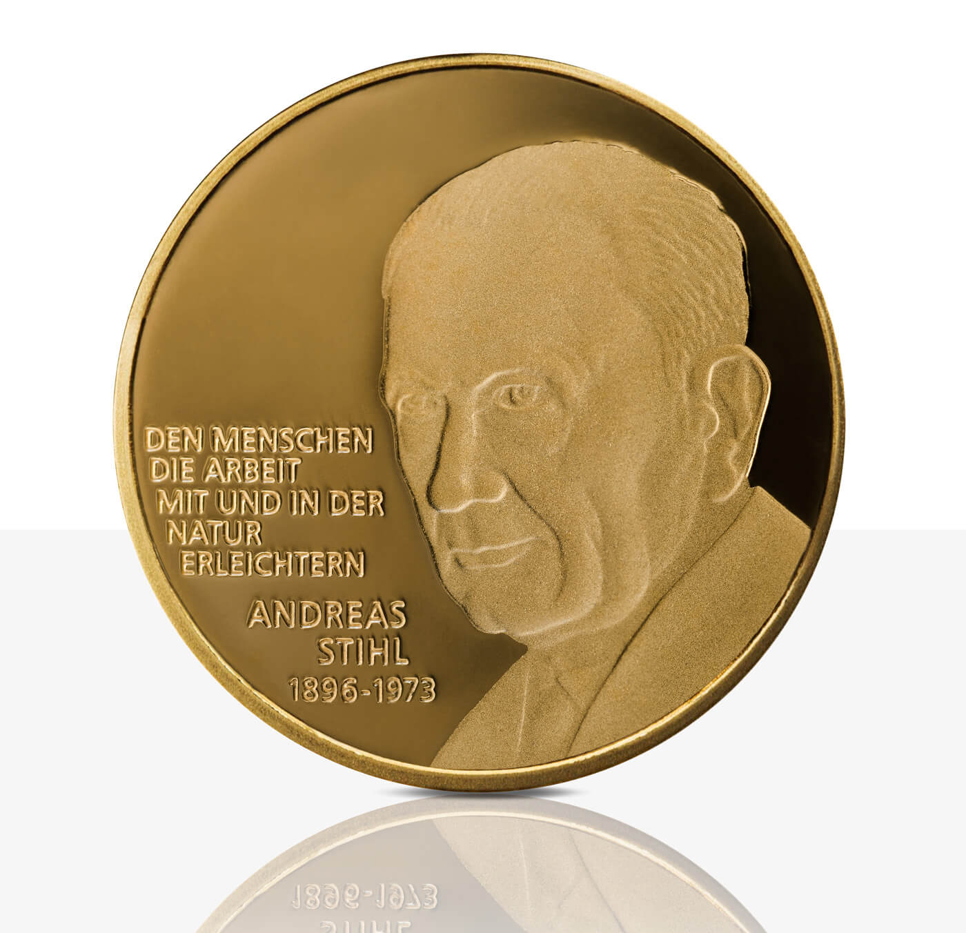 Andreas Stihl - Gold medal proof