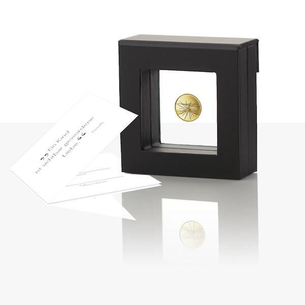 Birth Medal Fine Gold Proof Staatliche Münzen Baden Württemberg