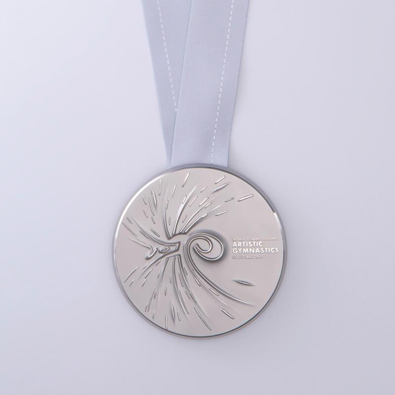 Silbermedaille Turner WM Stuttgart2019